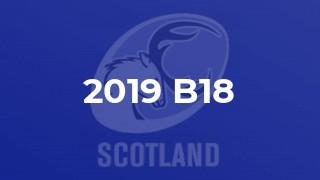 2019 B18