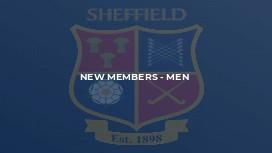 New Members - Men