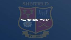 New Members - Women
