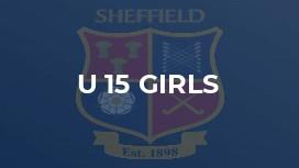 U 15 Girls