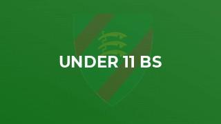 Under 11 Bs