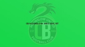 CB Hounslow 3rds Soc 1st
