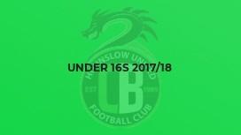 Under 16s 2017/18