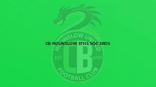 CB Hounslow 5ths Soc 3rds