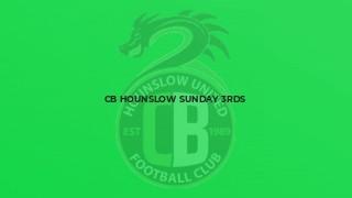 CB Hounslow Sunday 3rds