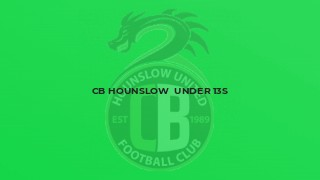 Cb Hounslow  under 13s