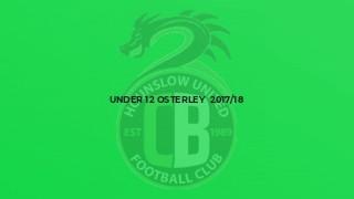 Under 12 Osterley  2017/18