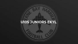 u10s Juniors EKYL