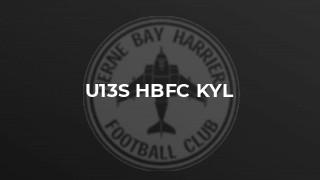 U13s HBFC KYL