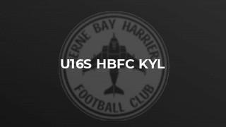 U16s HBFC KYL