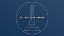 Saturday 4th (Dev) XI