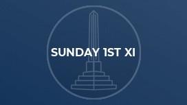 Sunday 1st XI