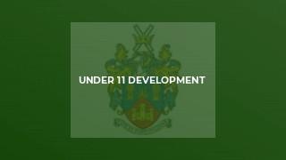 Under 11 Development