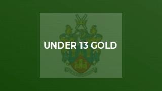 Under 13 Gold