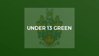 Under 13 Green