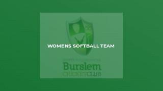 Womens Softball Team