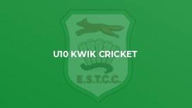 U10 Kwik Cricket