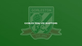 Gorleston U12 Raptors