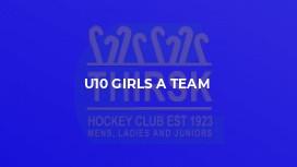 U10 Girls A Team