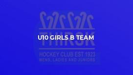 U10 Girls B Team