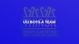 U12 Boys A Team