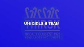 U16 Girls B Team