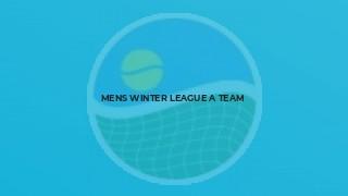 Mens Winter League A team