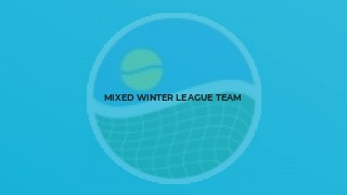 Mixed Winter League team