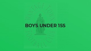 Boys Under 15s