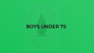 Boys Under 7s