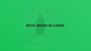 Boys Under 8s Green