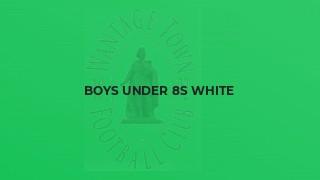 Boys Under 8s White