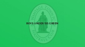 Boys Under 15s Green