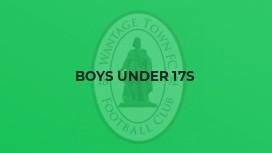 Boys Under 17s