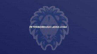 Peterborough Lions U16M