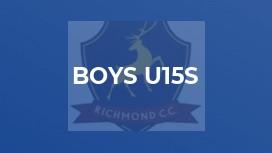 Boys U15s
