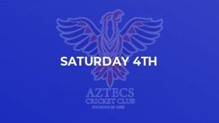 Saturday 4th