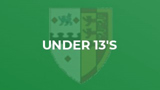 U13s pull together for away win at Thornbury