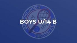 Boys U/14 B
