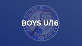 Boys U/16