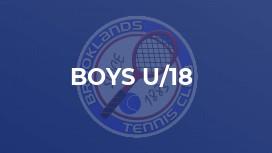 Boys U/18