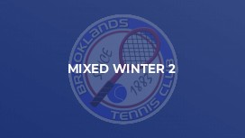 Mixed Winter 2