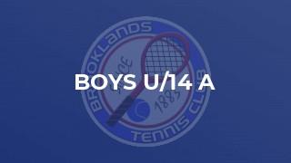 Boys U/14 A