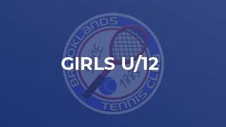 Girls U/12