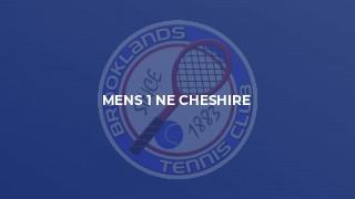 Mens 1 NE Cheshire
