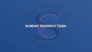 Sunday Friendly Team