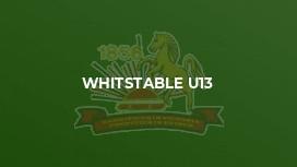 Whitstable U13