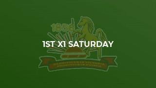 1st X1 Saturday