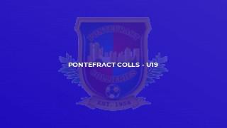 Pontefract Colls - U19