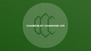 Camberley Cannons U19